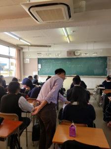 犬山南高校 公開授業 数学2年03
