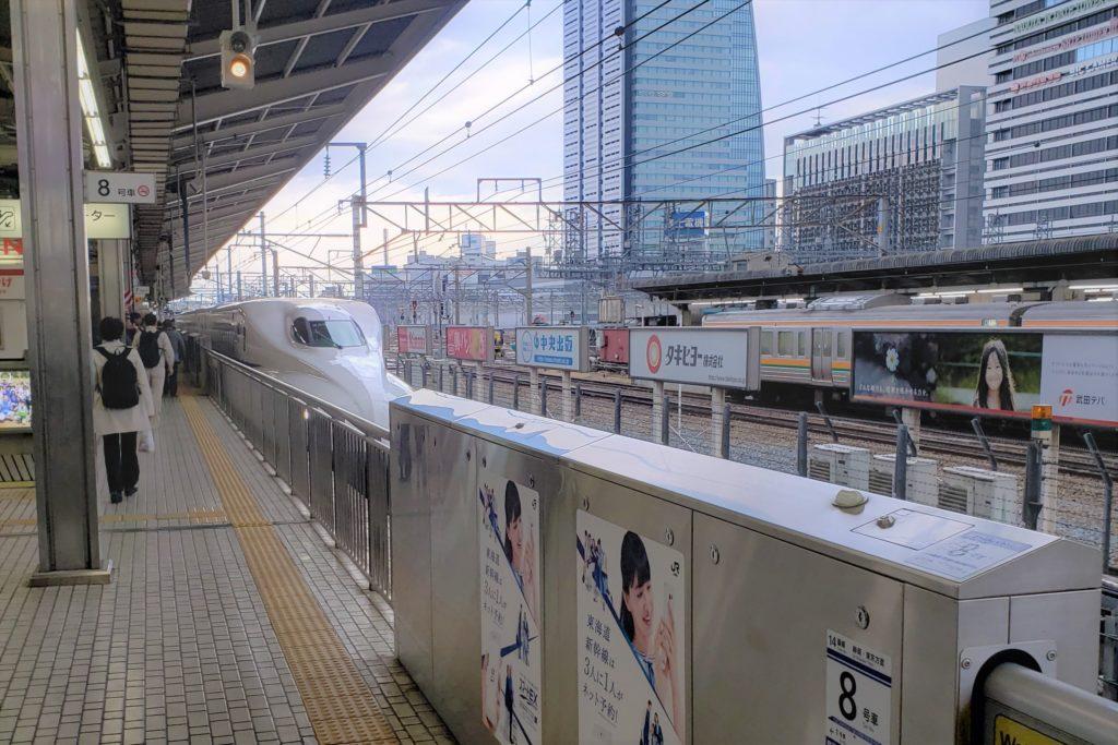 名古屋駅 新幹線 700系